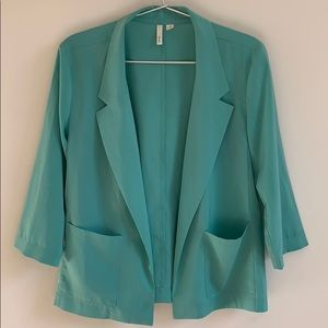 Frenchi 3/4 Sleeve Blazer